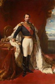 Napoleon III in ceremonial costume, from the studio of Xavier Winterhalter.Credit Osenat