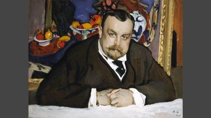 ולנטין סרוב, איוון מורוזוב, 1910, גלריה טרטייקוב
