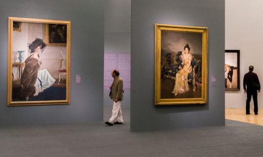 ולנטין סרוב, מראה בגלריה טרטייקוב, מוסקבה
