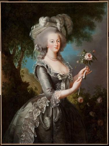 אליזבט לואיז ויג'ה לה ברון, מארי אנטואנט, 1783, שמן על בד,  Resnick coll. from LACMA