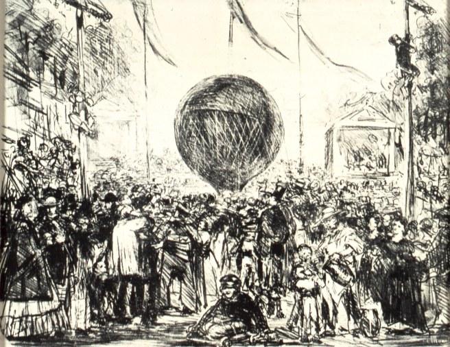 אדוארד מנה, הכדור הפורח, 1862.jpg