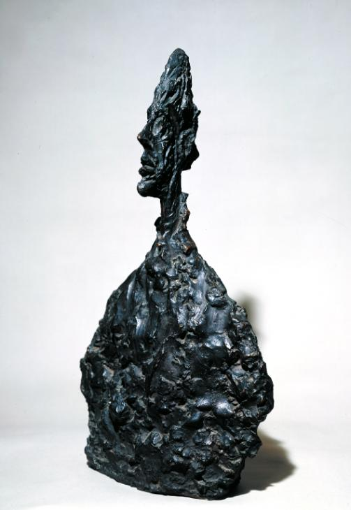 Bust of Diego 1955 by Alberto Giacometti 1901-1966