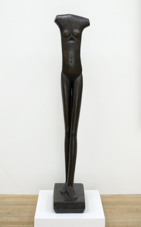 Walking Woman I 1932-3-1936, cast 1966 by Alberto Giacometti 1901-1966