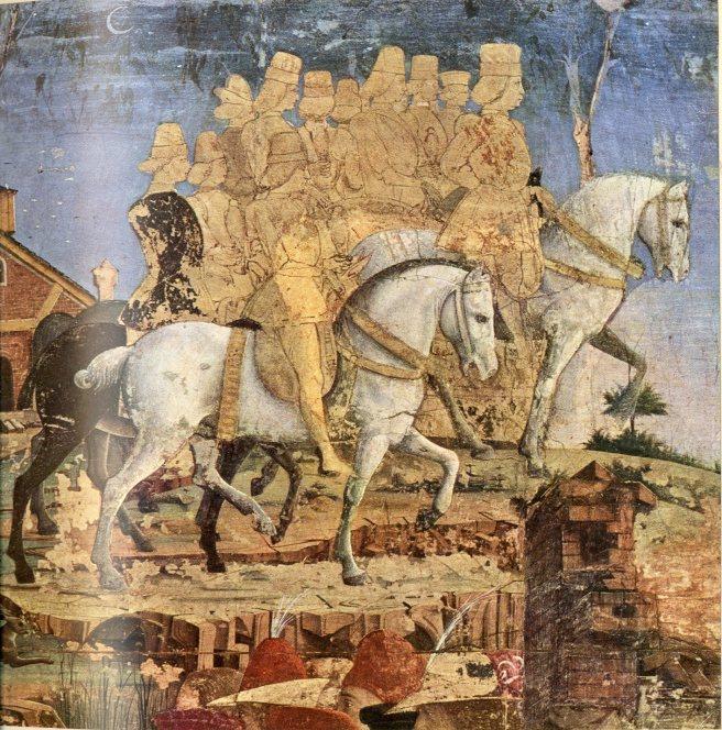 פלאצו סקיפנויה, חודש מרס, פרט מהאזור התחתון, פמליית הדוכס