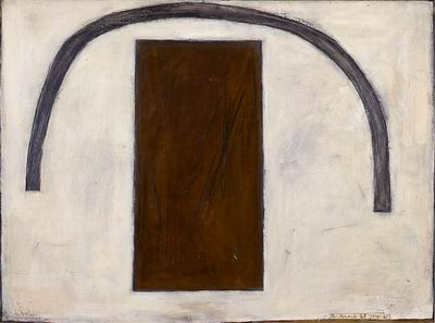 Aroch Arieh, Arc on White Background_cropped,1961,L-B86_038