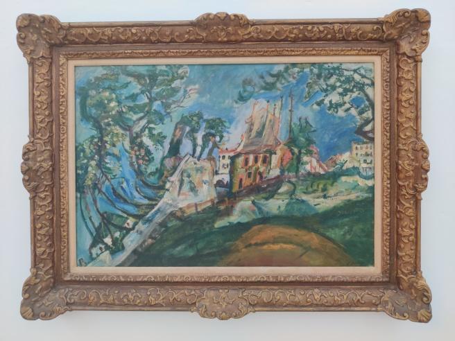 חיים סוטין, נוף במונמארטר, 1919 בקירוב, אוסף מוזיאון תל אביב לאמנות.jpg