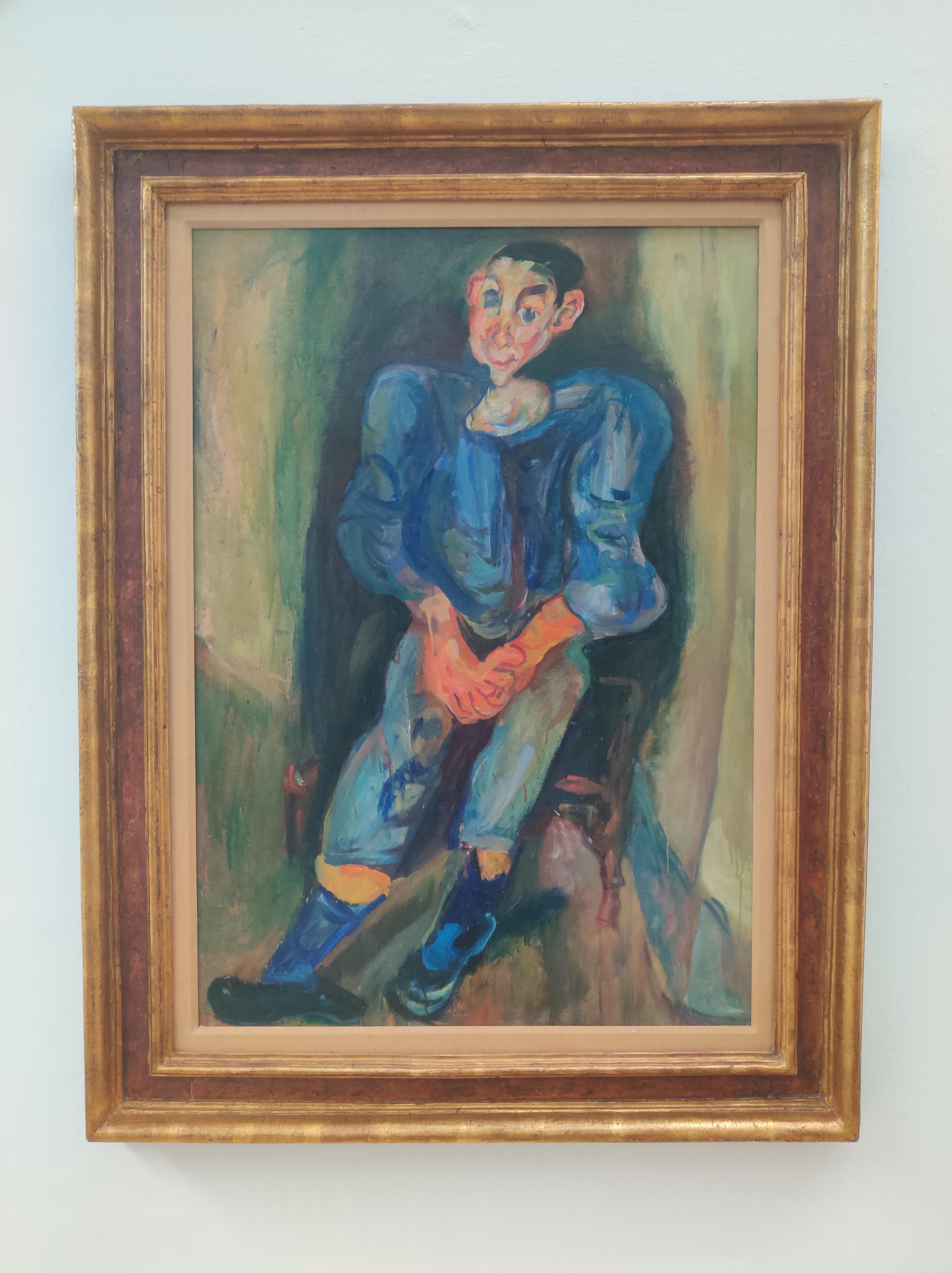 חיים סוטין, נער בכחול, 1924 בקירוב, מוזיאון ישראל, ירושלים.jpg