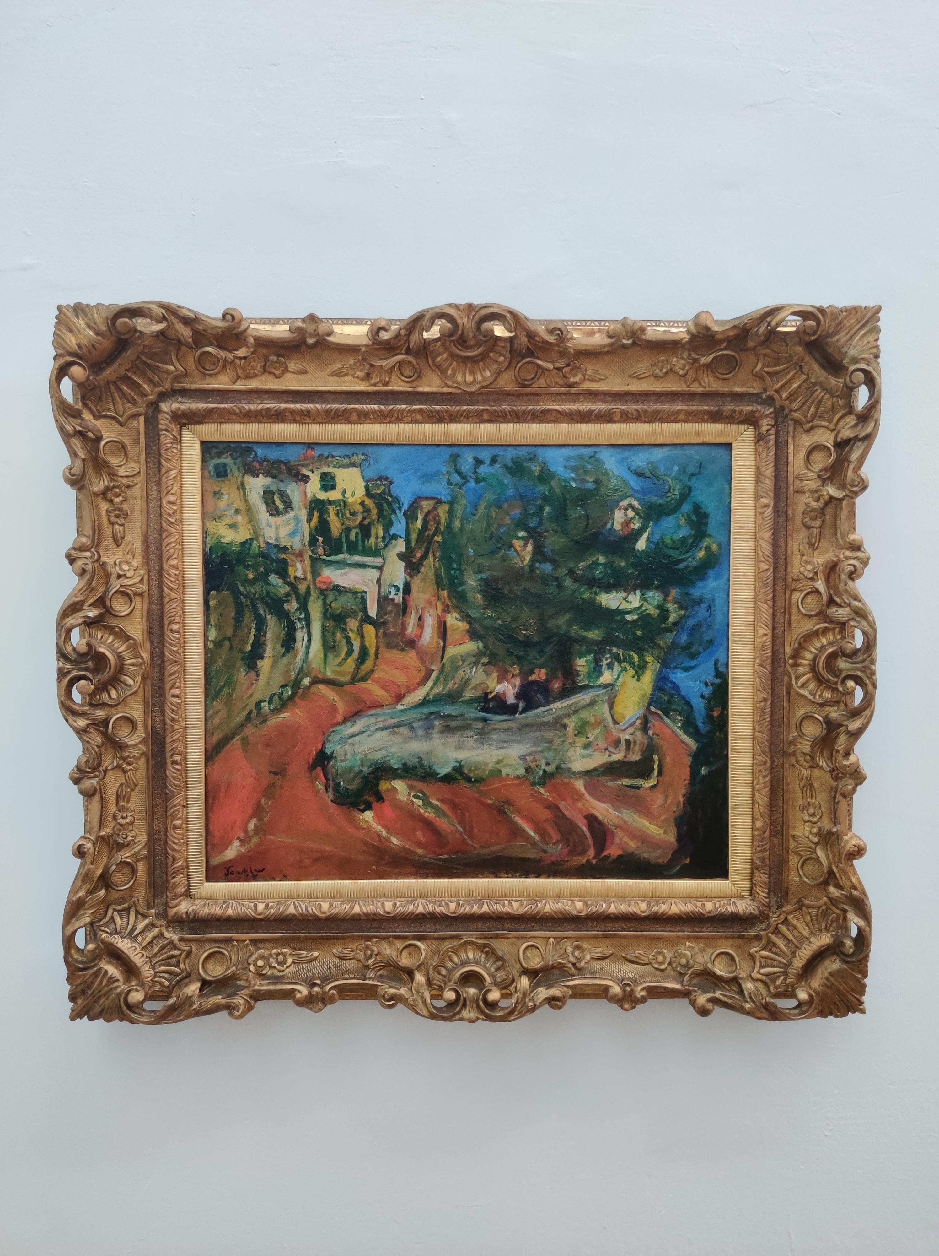 חיים סוטין, רחוב בקאן-סור-מר, 1924-1923, אוסף מוזיאון הכט, אוניברסיטת חיפה.jpg