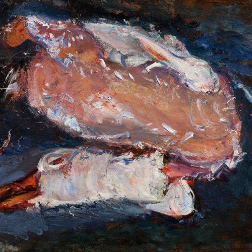 סוטין-אווז-מרוט-נוצות-1933-בקירוב-אוסף-פרטי-