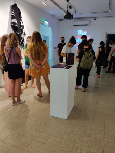 בתערוכה