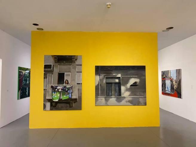 צילום הצבה - בית האמנים תל אביב יולי 2020