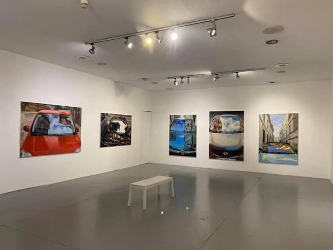 צילום הצבה II- בית האמנים תל אביב יולי 2020