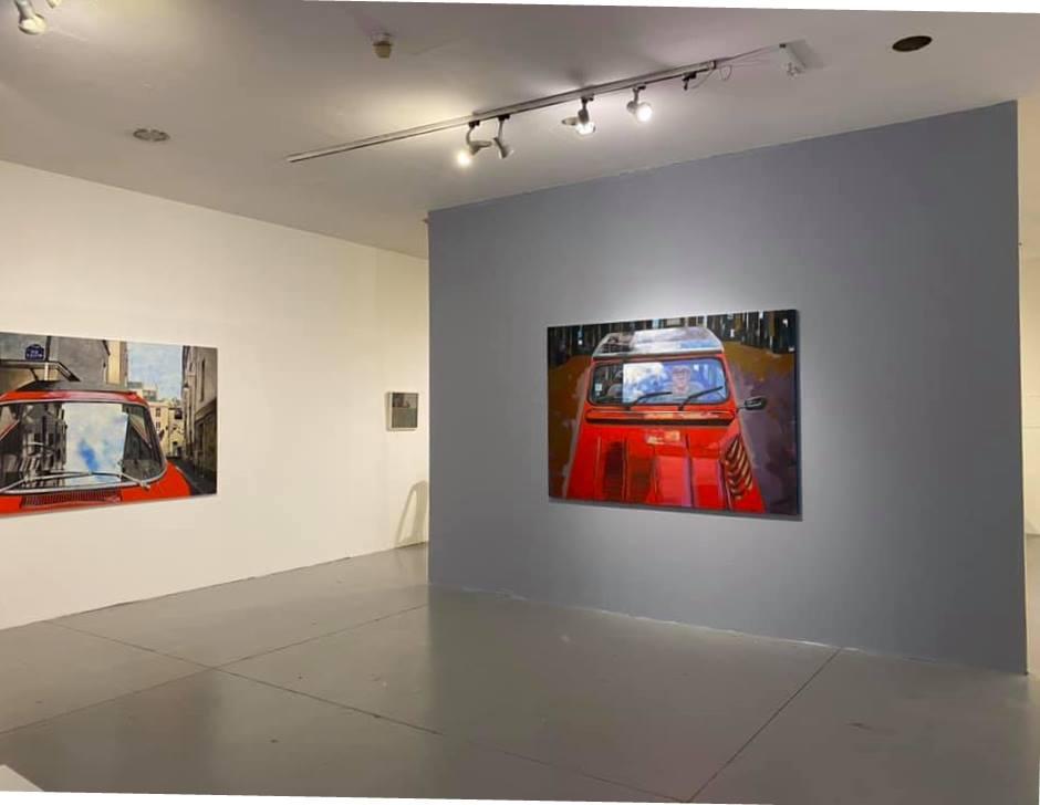 צילום הצבה III- בית האמנים תל אביב יולי 2020