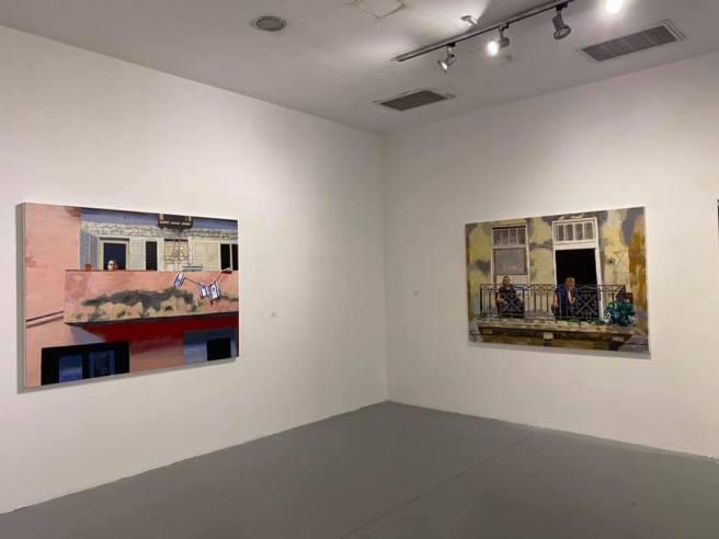 צילום הצבה IV- בית האמנים תל אביב יולי 2020